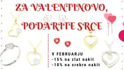 Nakit za valentinovo