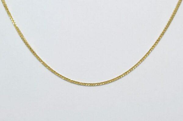 Ženska verižica Diana iz rumenega zlata