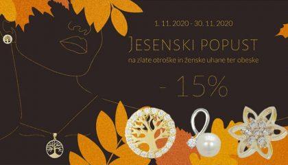 Jesenski popust -15%