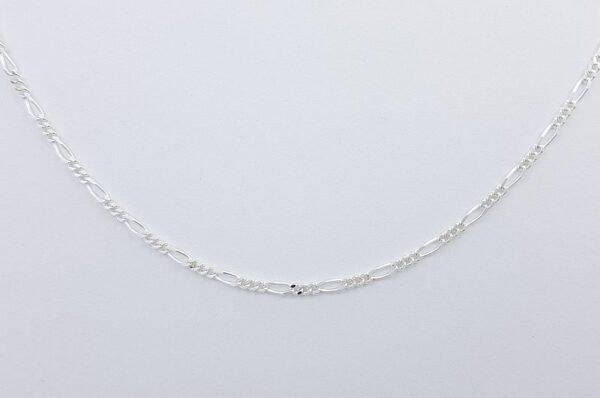 Srebrna otroška verižica, figaro