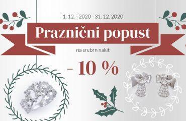 Praznični popust -10%