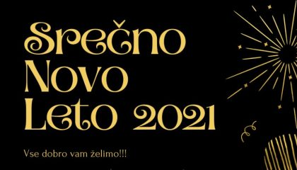 Srečno novo leto 2021