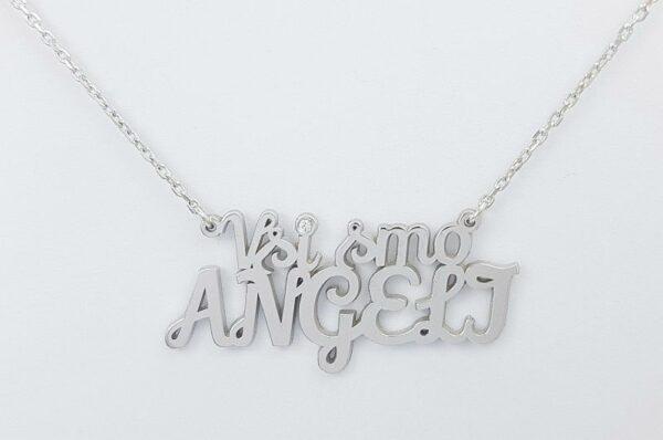 Srebrna verižica, vsi smo angeli